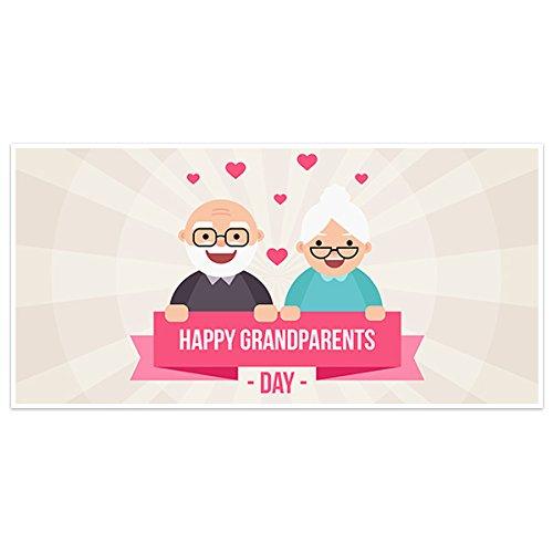 Smiling Reservation Sales Happy Grandparents Banner Day