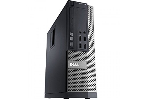 Dell Optiplex 9020 Small Form Factor Desktop - Speedy i7-4770 3.40 GHz CPU (4th Gen) - 8GB RAM - Ultra Fast 256GB SSD - Windows 10 Professional (Renewed)