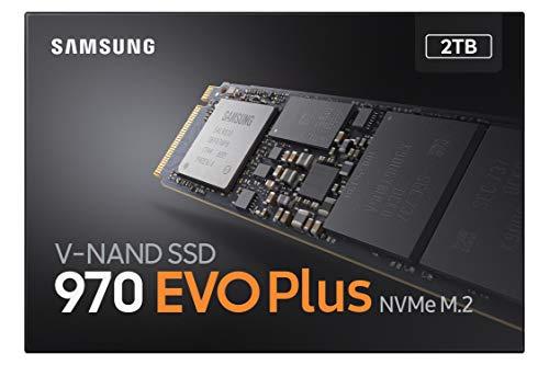 Samsung 970 EVO Plus 2 TB PCIe 3.0 (bis zu 3.500 MB/s) NVMe M.2 Internes Solid State Drive (SSD) (MZ-V7S2T0BW)