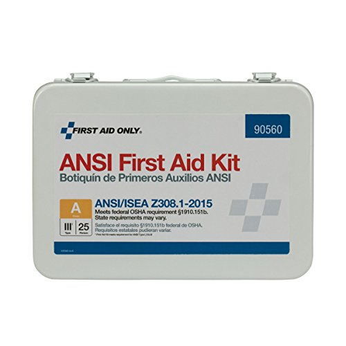 First Aid Only 90560 16 Unit ANSI A First Aid Kit