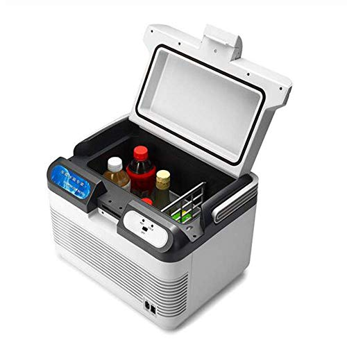 YLLN 12L Kühlschrank Dual-Use-Kühlschrank für Privathaushalte Mini-Gefrierschrank 12V 60W Tragbarer Ultra Quiet Cooling Heizkasten Kühlschrank für unterwegs