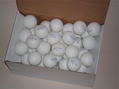 Der Sportler 72 TT-Bälle Tischtennisbälle 40mm ** weiß (Versand aus D)