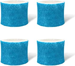 GuanQiao 4 Pack Humidifier Replacement Filter Compatible with Honeywell HAC-504 Filter A, HAC-504AW, HCM-300, HCM 350W, HEV-300, HCM-500, HCM-630, HCM-700, HCM-2000 Series