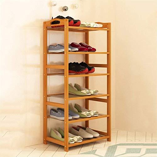KAYBELE Zapatero de múltiples Capas Simples de la casa económica Que Ahorra Espacio Zapato Montaje en Armario Moderno Minimalista a Prueba de Polvo compartida Estante de Almacenamiento