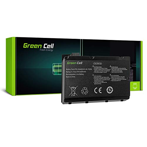 Green Cell Batería para Fujitsu-Siemens Amilo Pi2450 Pi2530 Pi2540 Pi2550 Xi2428 Xi2528 Portátil (4400mAh 11.1V Negro)