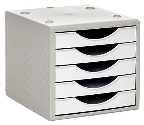 Archivo 2000 Archivotec Serie 4000 - Módulo de 5 cajones, color blanco