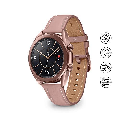 Samsung Galaxy Watch3 Smartwatch de 41mm I Bluetooth I Reloj inteligente Color Bronce I Acero [Versión española]