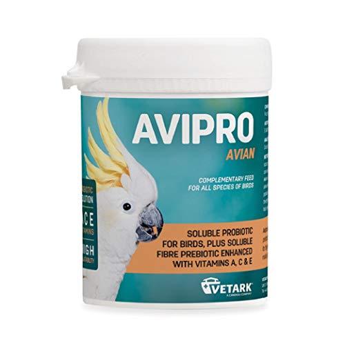 Vetark Avipro Avian Prebiotic & Probiotic Supplement - 100g