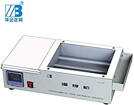 Soldering 220V 1500W leaded dip Soldering Pot with tank size 25020070mm ZB2520B - (Power: 80W, Plug Type: UK)