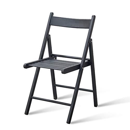 ZHAOYONGLI Taburetes,Sillas Sillas De Hierro Forjado Niño Ocio Taburete Mesa Plegable Balcón Muebles Al Aire Libre Combinación (Color : Negro)