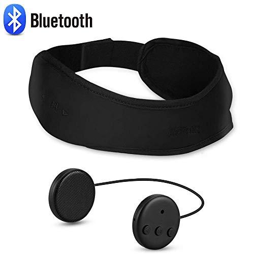AGPTEK Bluetooth 5.2 Headband, Sport schweissband drahtlosem Kopfhörer mit Stirnband bis 8 Stunden Musikwiedergabe, Geeignet für Outdoor Sport