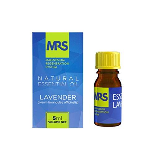 MRS Lavendelöl – ätherisches Lavendel Öl mit Lavendel Duft – 100% Bio Duftöl & Aroma Öl – naturrein zur Aromatherapie & Duftlampe – als Massageöl & Badeöl – 5 ml