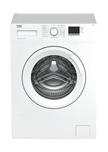 Beko WML 16106 N Waschmaschine Frontlader / 6kg / A+ / 1000 UpM / Mengenautomatik / 49 cm tief / Reversierende Trommel / LED Display