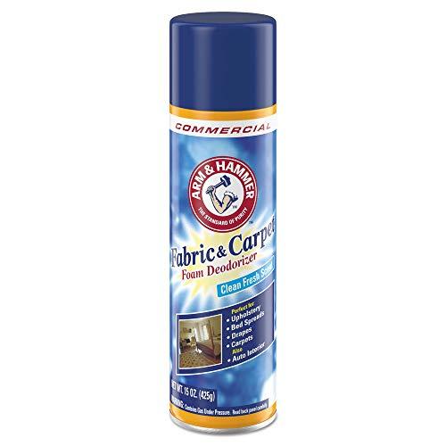 Arm & Hammer Fabric and Carpet Foam Deodorizer, Fresh Scent, 15 Oz, Pack of 8
