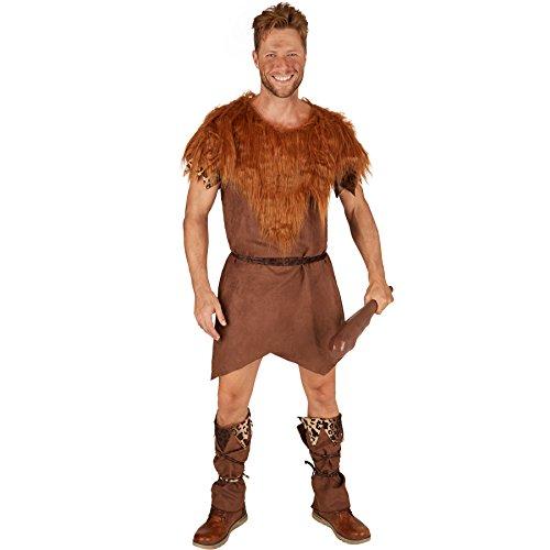 dressforfun Costume pour Homme Chasseur de l'Âge de Pierre   Tunique Confortable   Costume de Carnaval Parfait et Sauvage (XXL   No. 301348)
