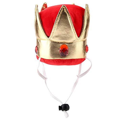Sombrero de fiesta para perros, pequeño y lindo, mascota, cachorro, gato, corona, sombrero, disfraz, sombreros, atractivo, atractivo, especial para perros pequeños, gatos, sombreros
