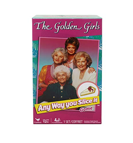 The Golden Girls Any Way You Slice It, Retro Trivia Card Game