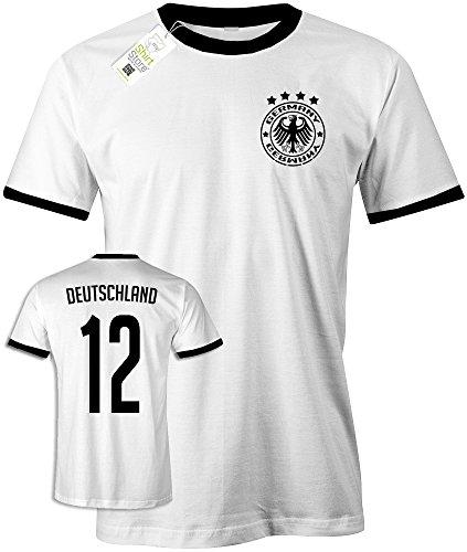 Jayess WM 2018 Deutschland Retro - Deutschland 12 - Gr. L