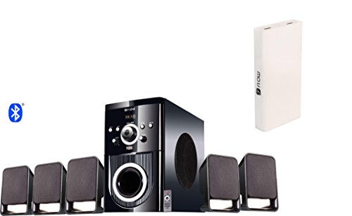 Flow Buzz Bluetooth 5.1 Speaker Home Theatre System with Powerful 13000mAh Power...