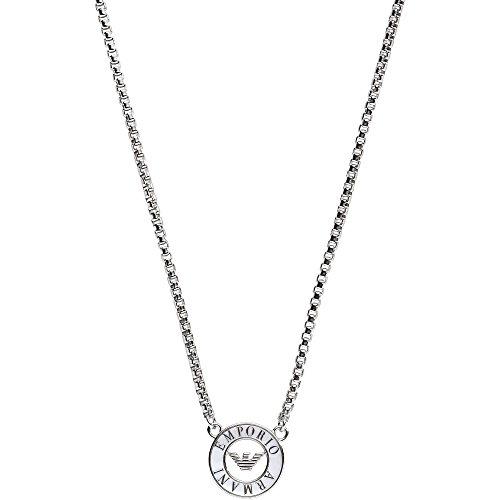 Emporio Armani EG3343040 Damen Collier SIGNATURE Sterling-Silber 925 Silber 45 cm