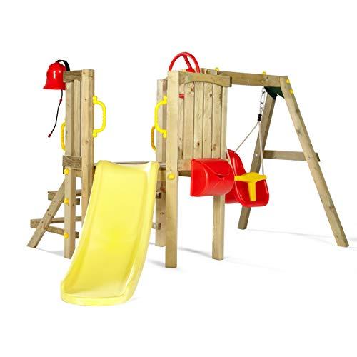 Pflaume Kleinkind Tower Holz Klettergerüst