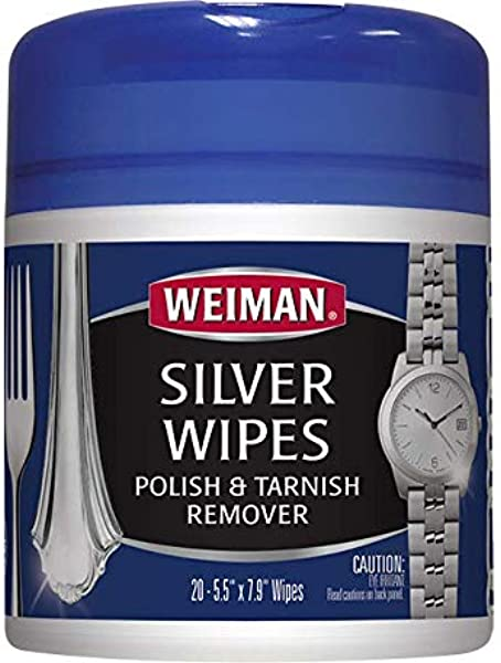 Weiman Silver Cleaner Jewelry Wipes 20 Count