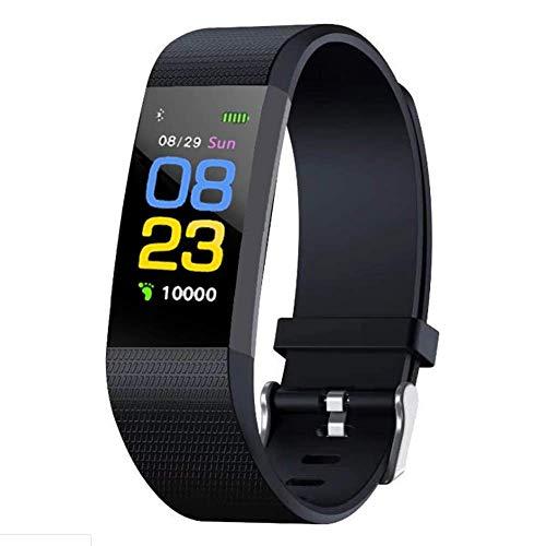 Lebron ray Pulsera Inteligente De Color para Deportes, con Presión Arterial Y Monitor De Frecuencia Cardíaca Receptor Inalámbrico Bluetooth Impermeable, Función De Seguimiento Y Conteo De Pasos para