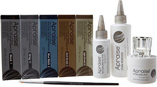 Apraise professionale ciglia e sopracciglia tinta Salon starter kit by Apraise