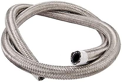 Torque Solution Stainless Steel Braided Direct store 10ft Award-winning store -8AN Hose: Rubber