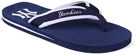 OFFICIALLY LICENSED MLB Contour Flip Flops - Happy Feet and Comfy Feet