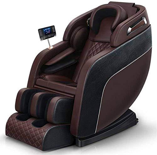 Sillón de masaje Masaje, Sillón de masaje eléctrica doméstica gravedad cero Shiatsu reclinable Cápsula espacial con forma de U almohada de masaje pantalla LCD táctil y Bluetooth ,Multifunción Masaje i