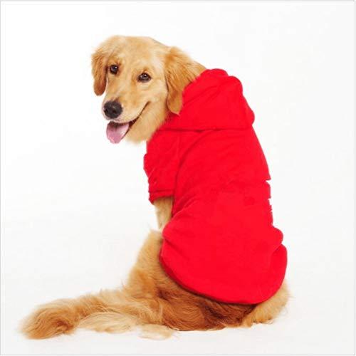 Haustierkleidung Kapuzenpulli Großer Hund Herbst & Winter Warmer weicher Mantel Langlebige Jacke Freizeit Sport Tägliche Kleidung Bekleidung