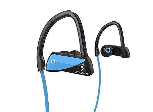 Bluetooth Headphones, Sensport X Wireless Headphones, Bluetooth 4.1 Sports Earphones with Mic, IPX7 Waterproof, 8 Hours Playtime, Works with iPhone, iPad, Samsung, Nexus, HTC, Huawei, Echo, and More