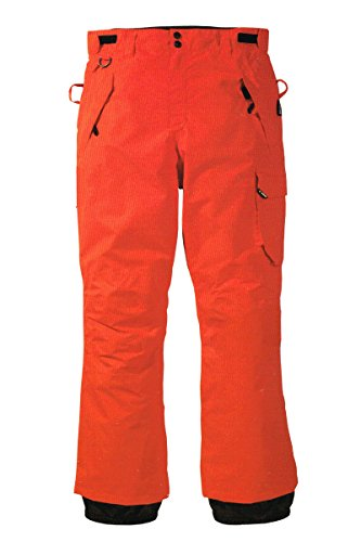 Crivit Sports Herren Snowboardhose Snowboard Hose Winter (Orange, 52)