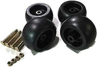 4 Pack Mower Deck Wheels Bolts Replacement for Cub Cadet RZT50 RZT54 LT1050 SLT1554 753-04856A