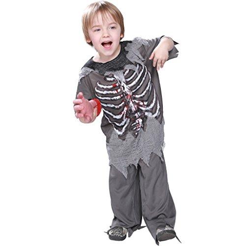 EraSpooky Zombie Bambini Scheletro Halloween Terrore Costume