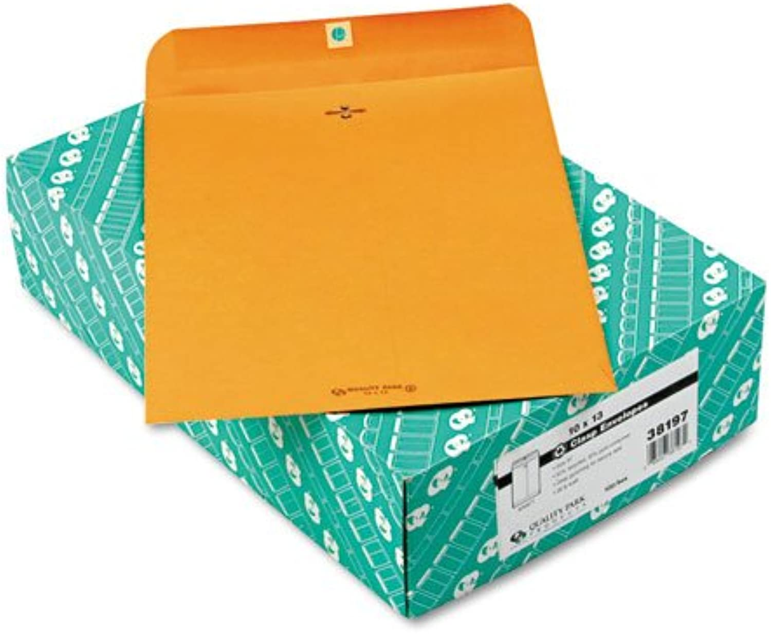 - Clasp Envelope, Recycled, 10 x 13, 28lb, Light Brown, 100 Box