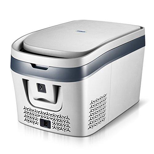 JCOCO Congélateur portatif de réfrigérateur de compresseur de voiture, 12 V / 24 V (taille : 28L)