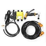 ZSYUN 12V 100W Herramientas for el Lavado Set de la Mini Bomba de la arandela Bomba de Lavado del Coche eléctrico portátil Rompecabezas