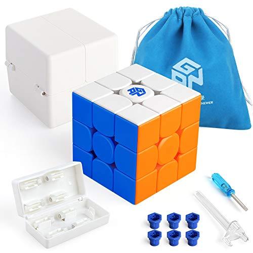 Coogam GAN 11M PRO, 3x3x3 magnetischer Puzzlewürfel, ohne Aufkleber (Primär)