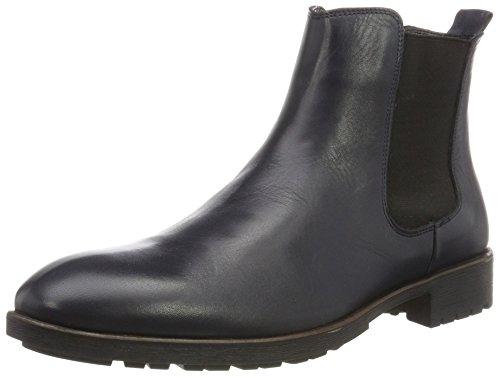 Tamboga Herren DR81 Chelsea Boots, Blau (Dark Blue), 45 EU
