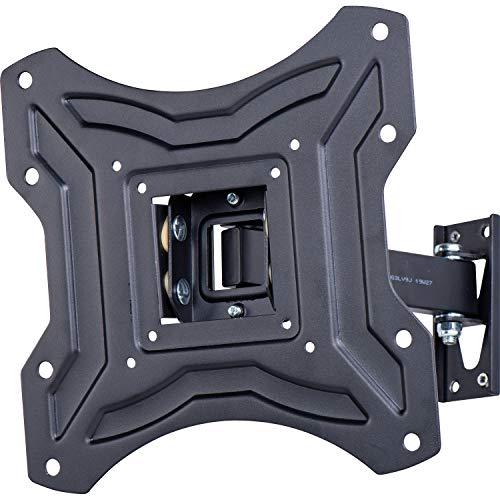 AmazonBasics - Soporte de pared inclinable y giratorio con un solo brazo, para televisión, de 58,4 a 127 cm (23-50
