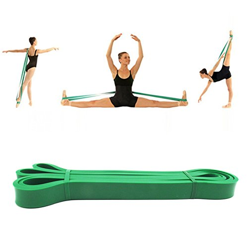 Ballett Stretch-Band Tanz Fuß Keilrahmen Gurt Latex Loop Widerstand Bands für Mädchen Frauen Gymnastik Eislaufen Cheerleader Training verbessern Flexibilität