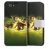 DeinDesign Étui Compatible avec Sony Xperia Z1 Compact Étui Folio Étui magnétique Star Wars The...