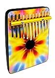 Schoenhut 12 Note Tie Dye Thumb Piano (Multicolor)