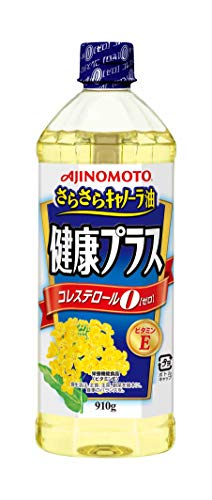 AJINOMOTO さらさらキャノーラ油健康プラス 910g×2本