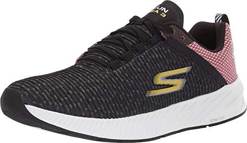 Skechers Men's Go Run Forza 3 L.A Marathon Running Shoe (12 M US, Black/Purple)