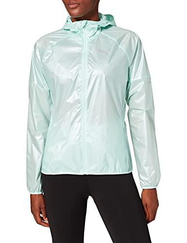 PUMA Damen Last Lap Jacket Trainingsjacke, Fair Aqua-Metallic, S