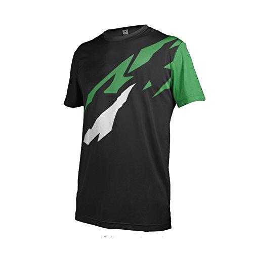 Uglyfrog 2018 MTB Downhill Trikot Kompressionsshirt Herren Kurzarm Fitness T-Shirt Freizeit Männer Laufshirt Printed und Klassisch Top Funktionswäsche SJFHB02