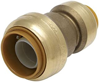 SharkBite Reducing Coupling, 1 Inch by 3/4 Inch, Push-to-Connect, PEX, Copper, CPVC, PE-RT, HDPE